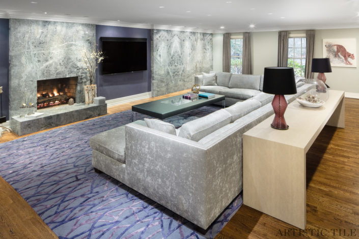 All Natural Stone Fire Place Gallery