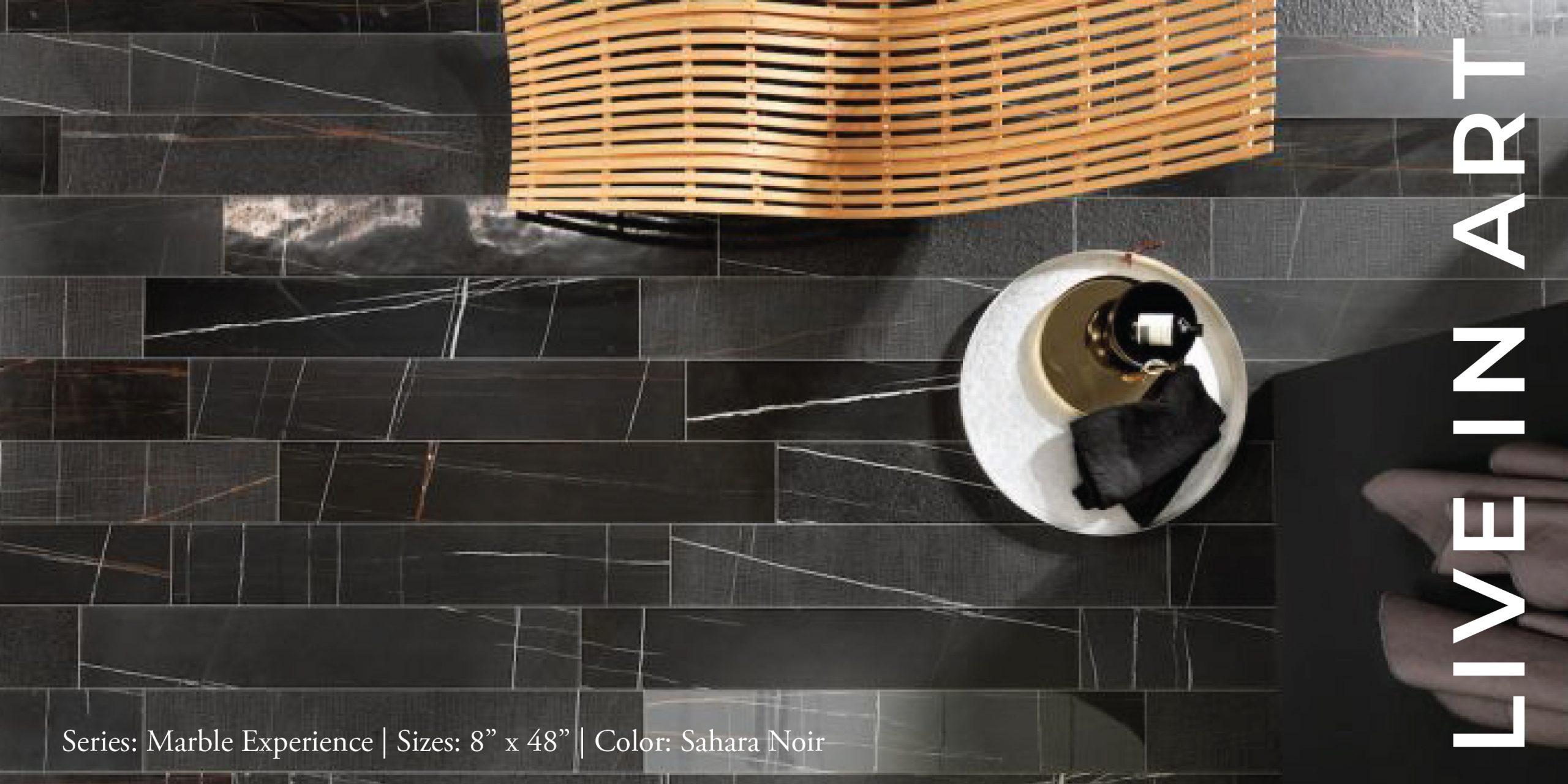 Marble Experience Sahara Noir 4x48-01