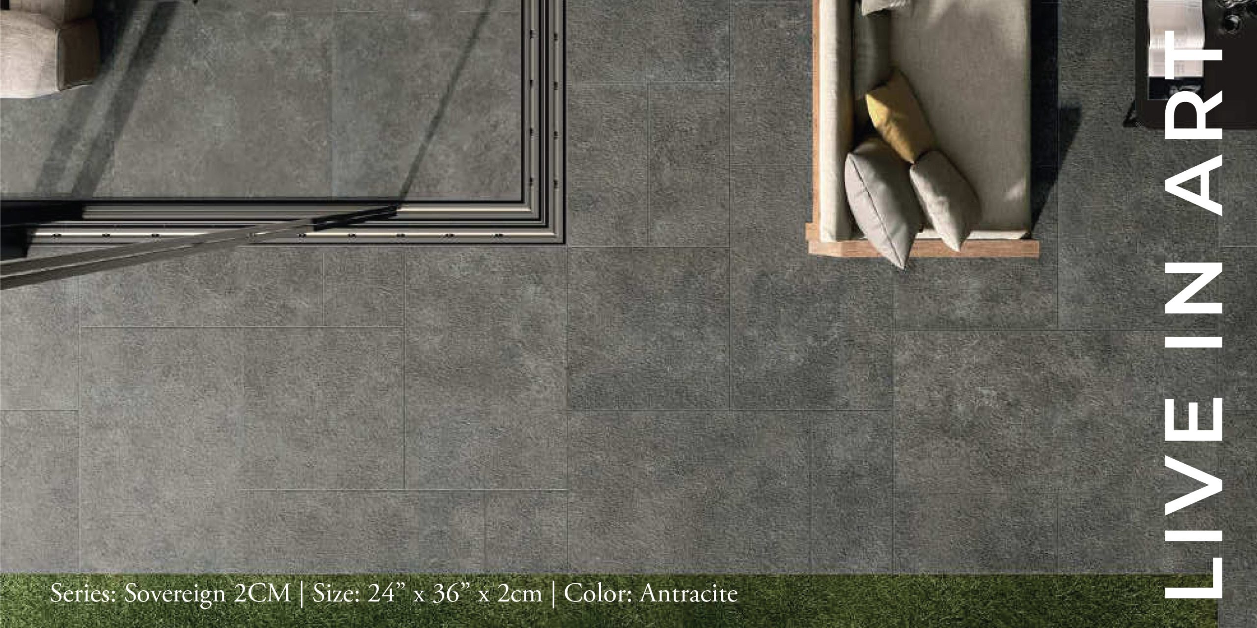 Sovereign Antracite 24x36