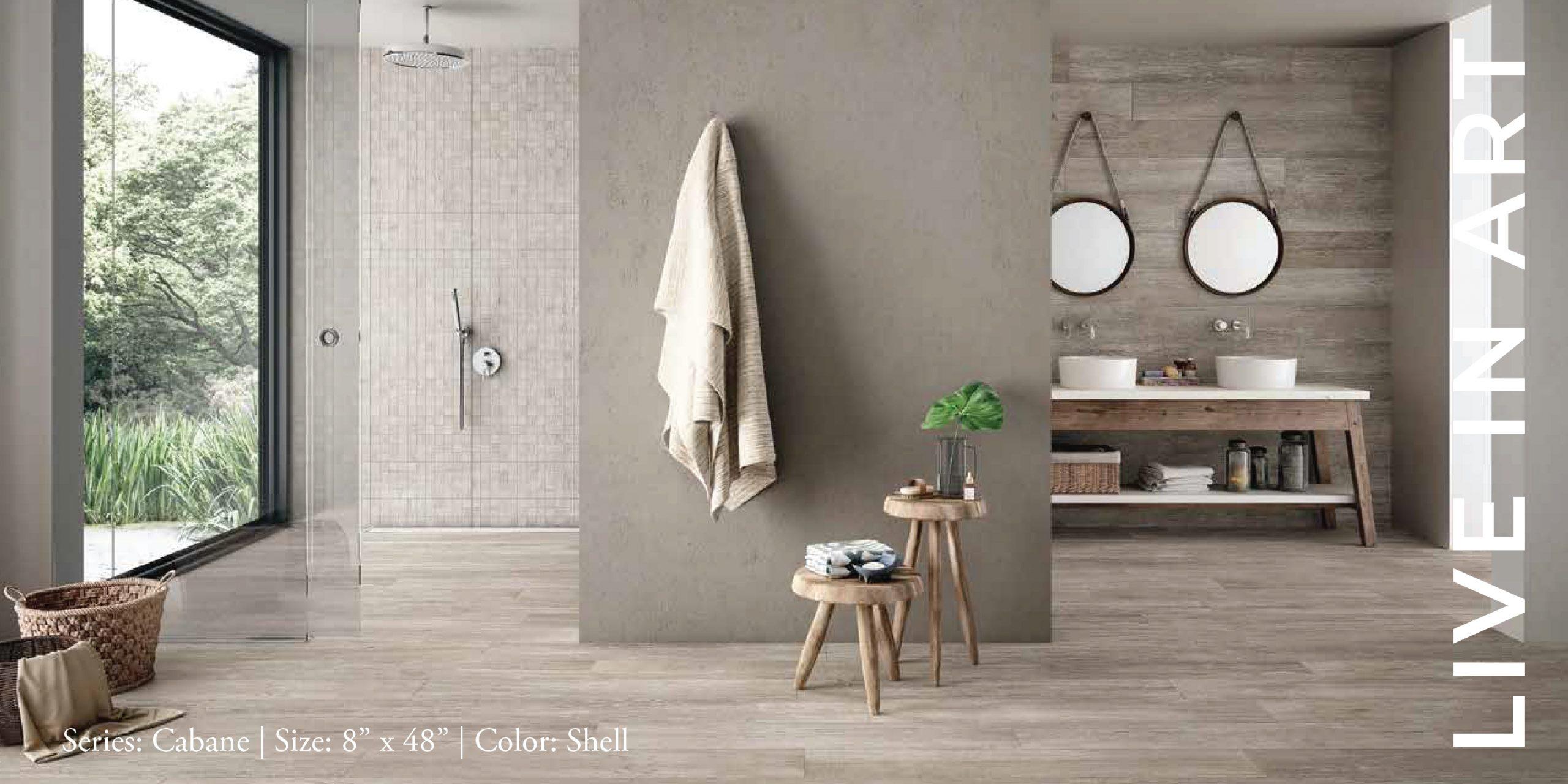 Cabane Shell 8x48