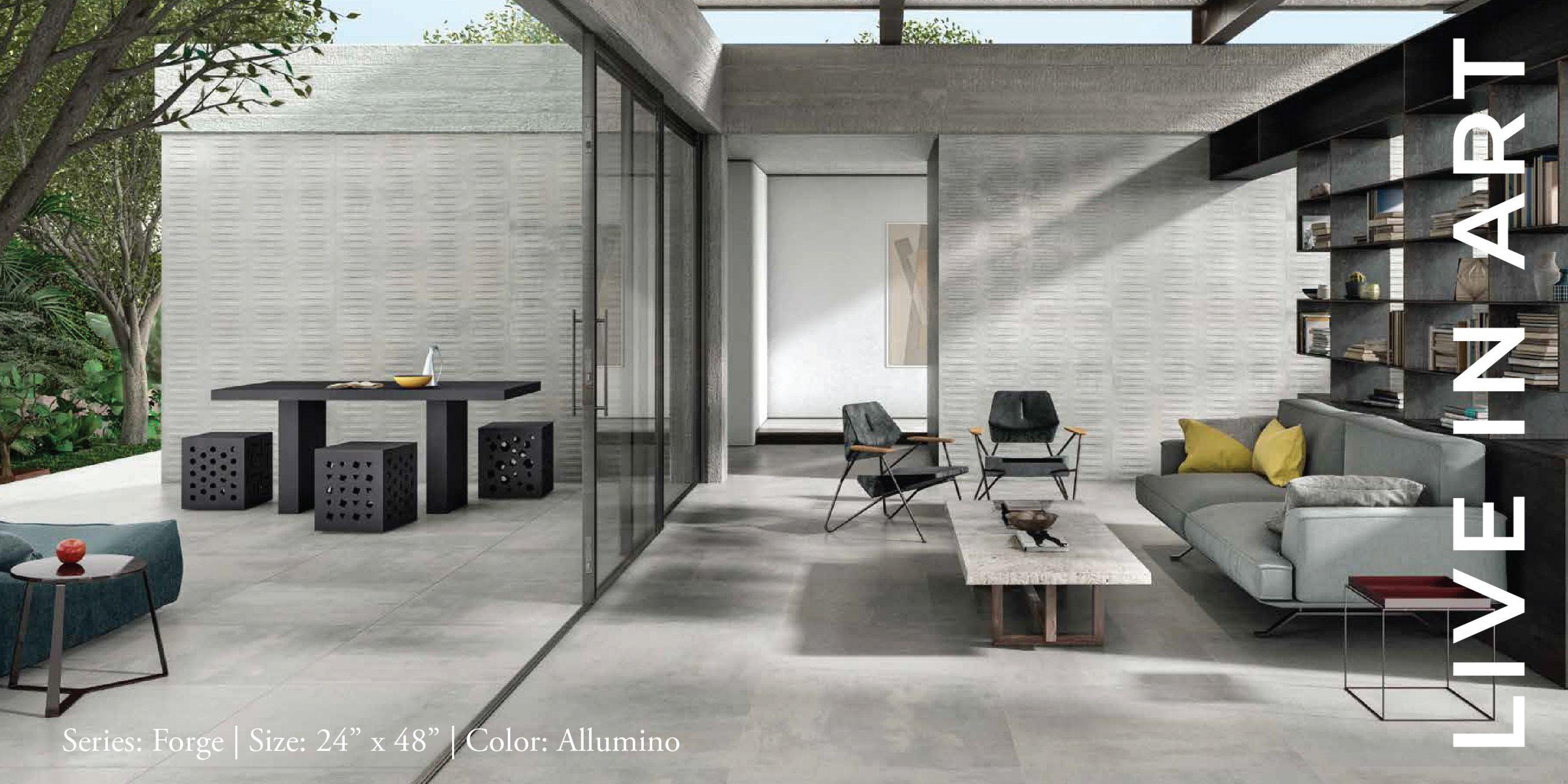 Forge Alluminio 24x48