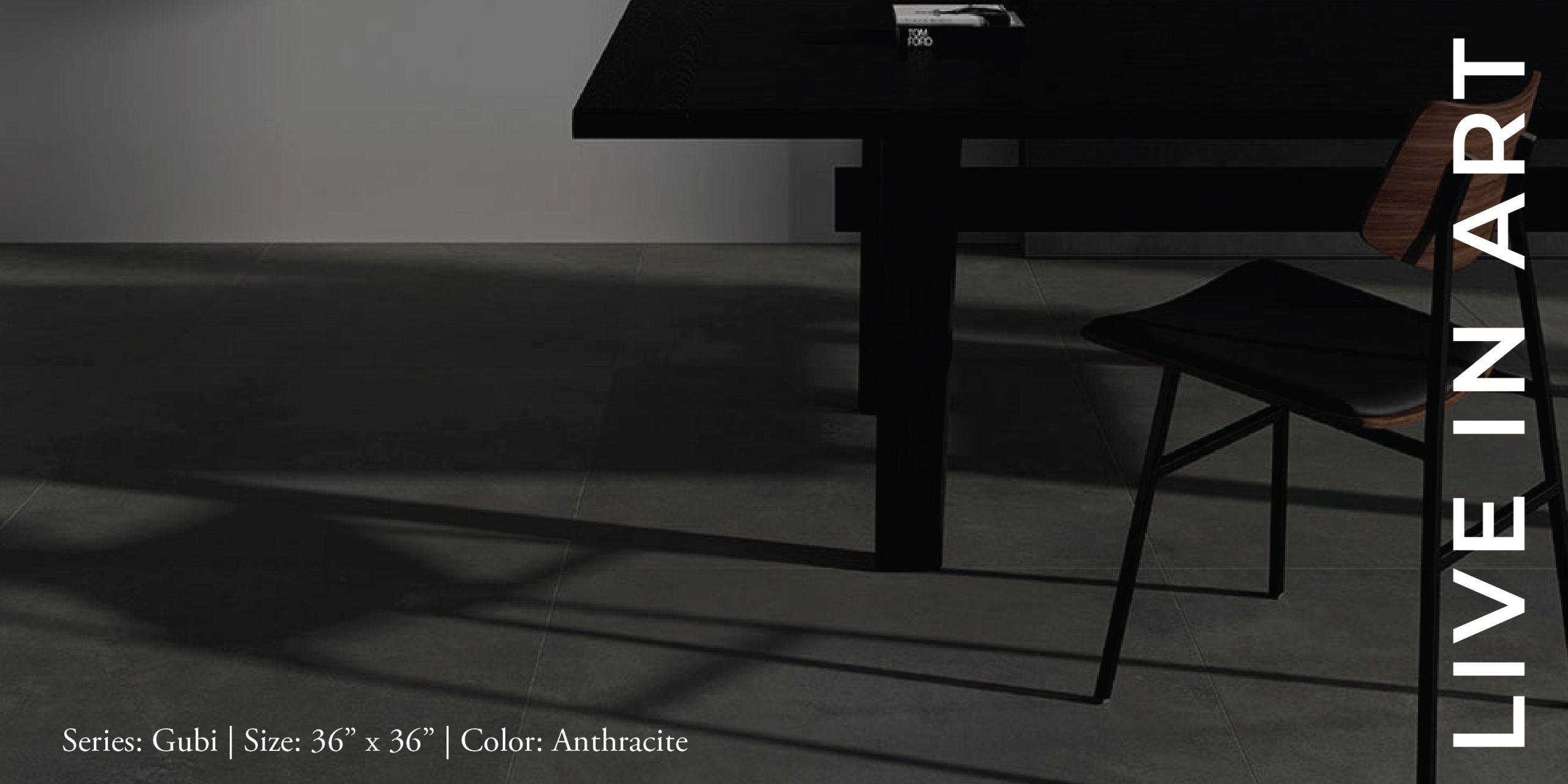 Gubi Anthracite 36x36