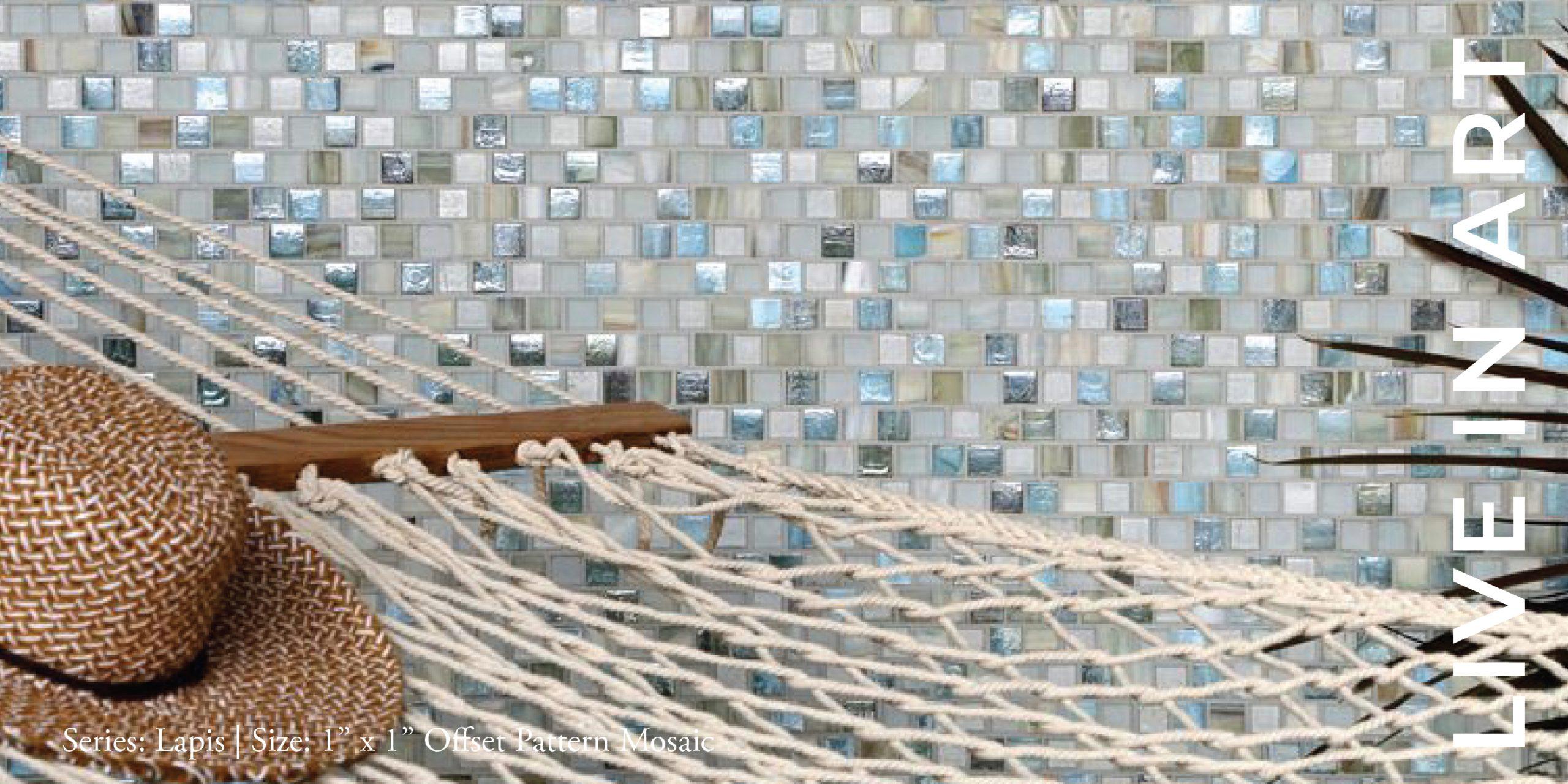 Lapis offset Pattern Mosaic