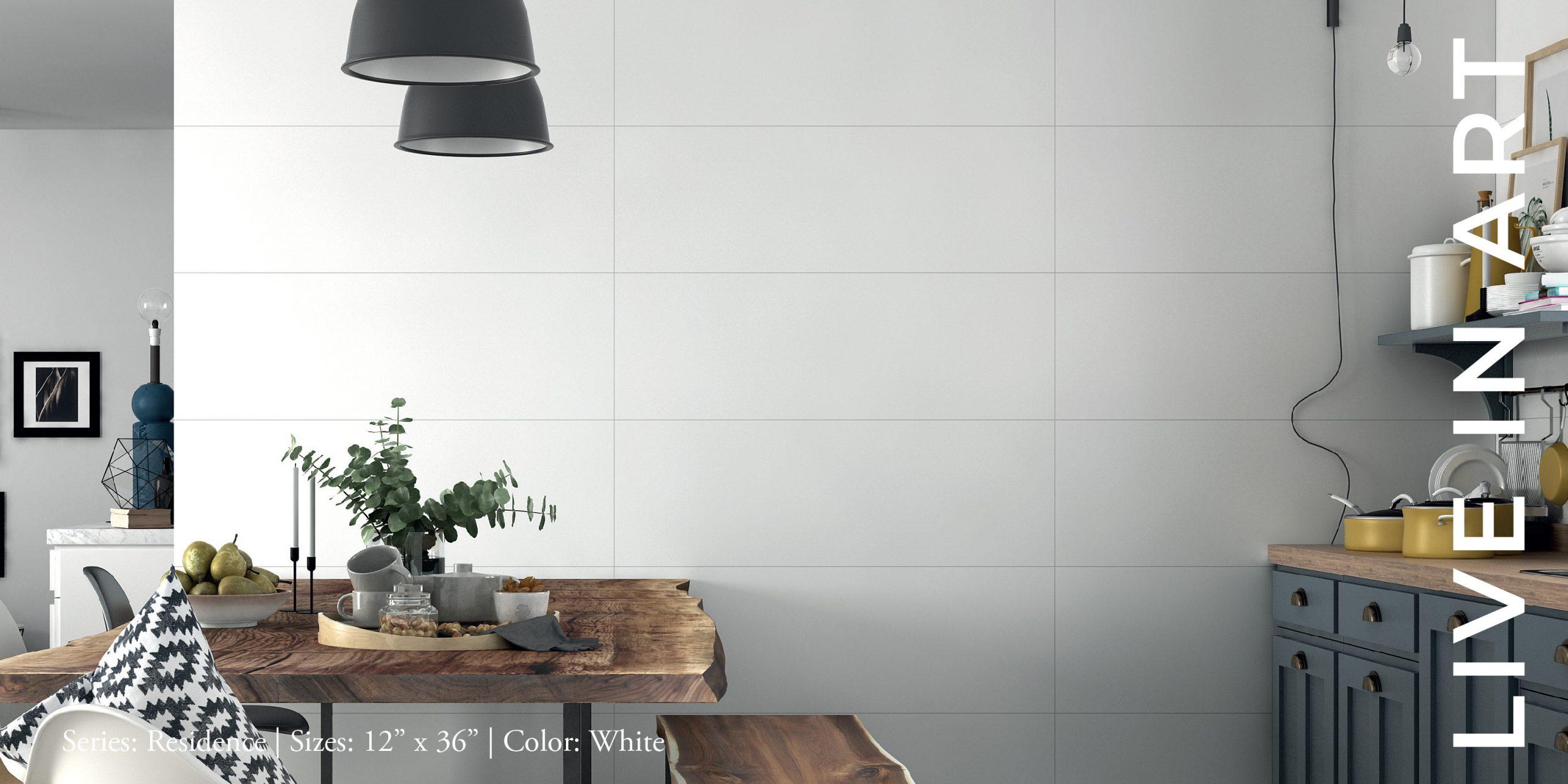 Residence White 12x36