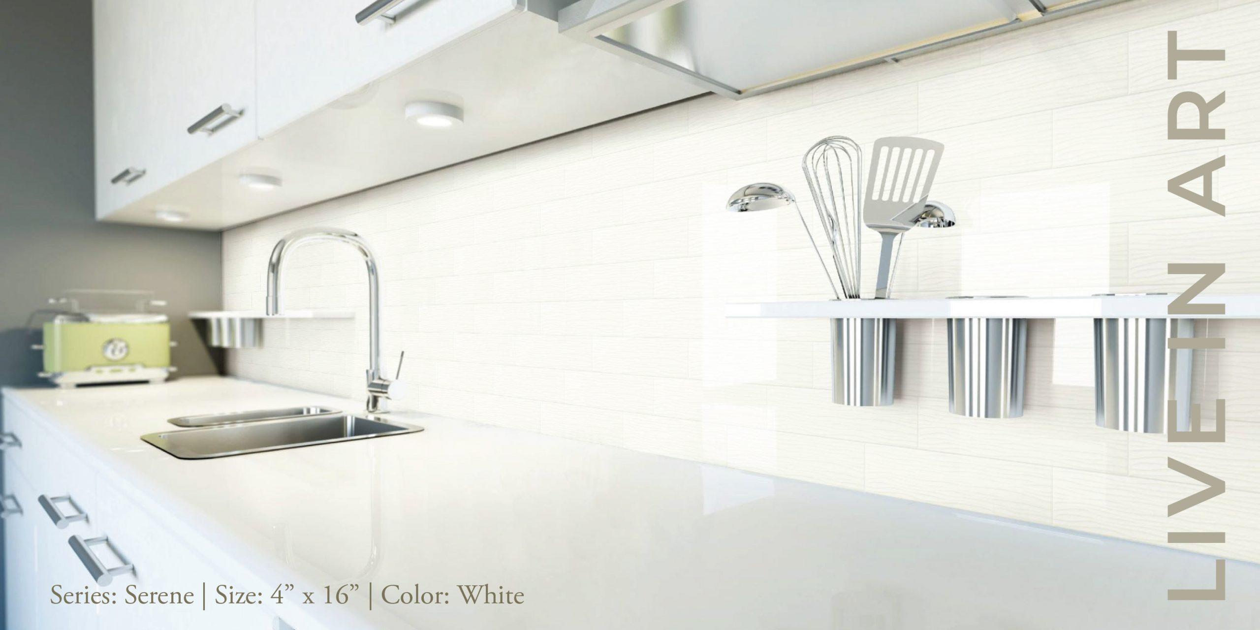 Serene Bright White 4x16