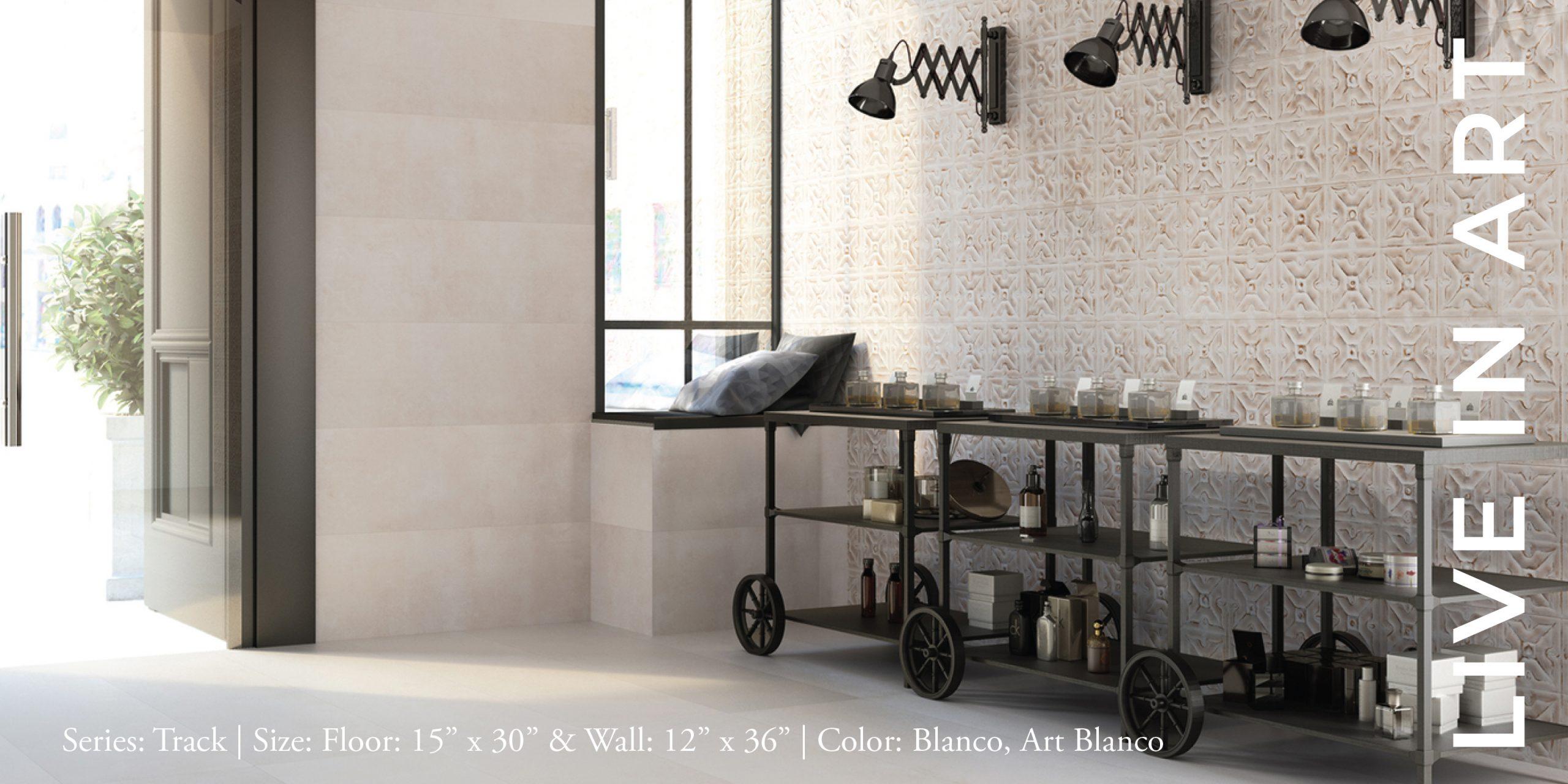 Track Concept Blanco 12x36, 15x30